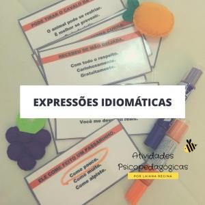 Expressões Idiomáticas